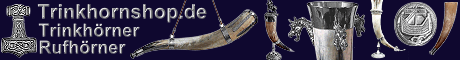 Trinkhörner Trinkhorn Rufhörner Wikingerhörner Drachenhörner Logo Online Shop - Trinkhörner online kaufen